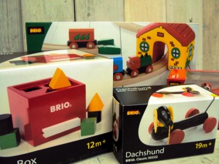 BRIO 木製玩具