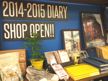 2014年-2015年DIARY SHOP OPEN!!