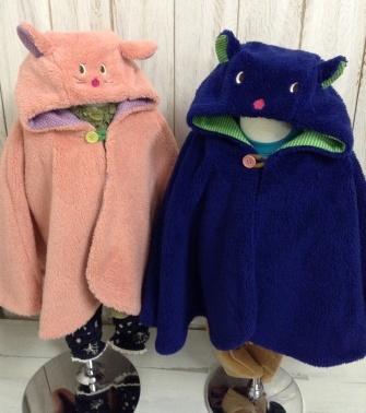 bear&rabi moco キッズポンチョ