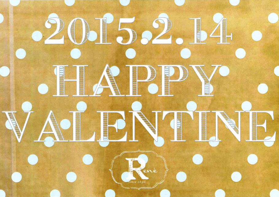 HAPPY♥VALENTINE 2015.2.14