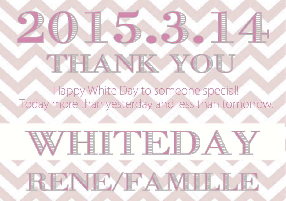 THANK YOU!!![White Day]