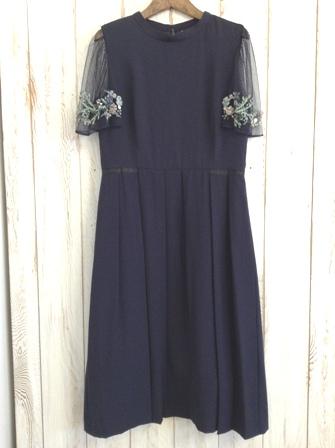 Noir  リボン刺繍チュールシリーズ