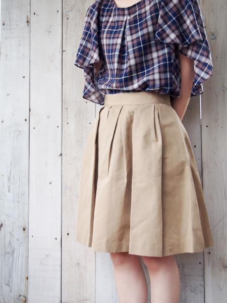 non-sens グログランスカート