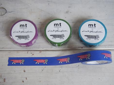 mtマスキングテープ北欧デザインシリーズ:リサラーソン
